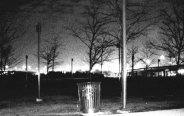 Louisville Riverfront Park B&W